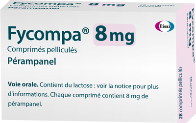 Image FYCOMPA 8 mg cp pellic