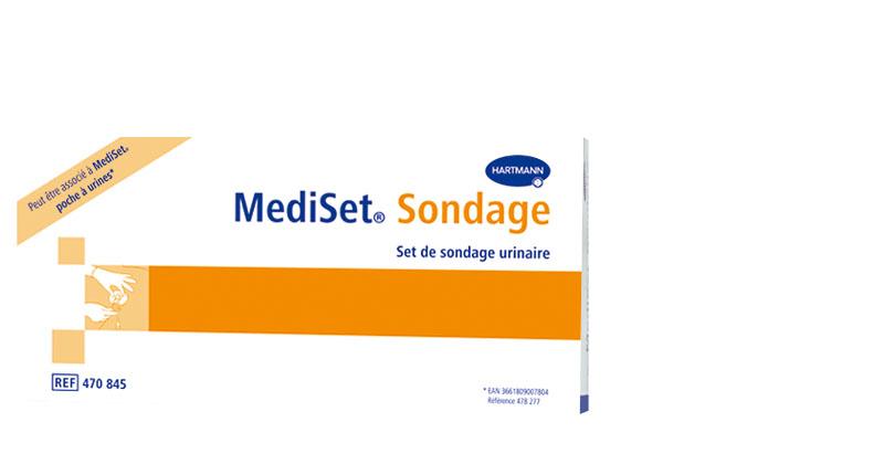 Image MEDISET set sondage urinaire