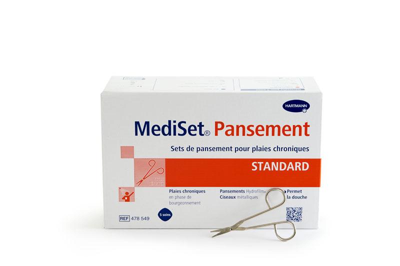 Image MEDISET set standard plaies chroniques