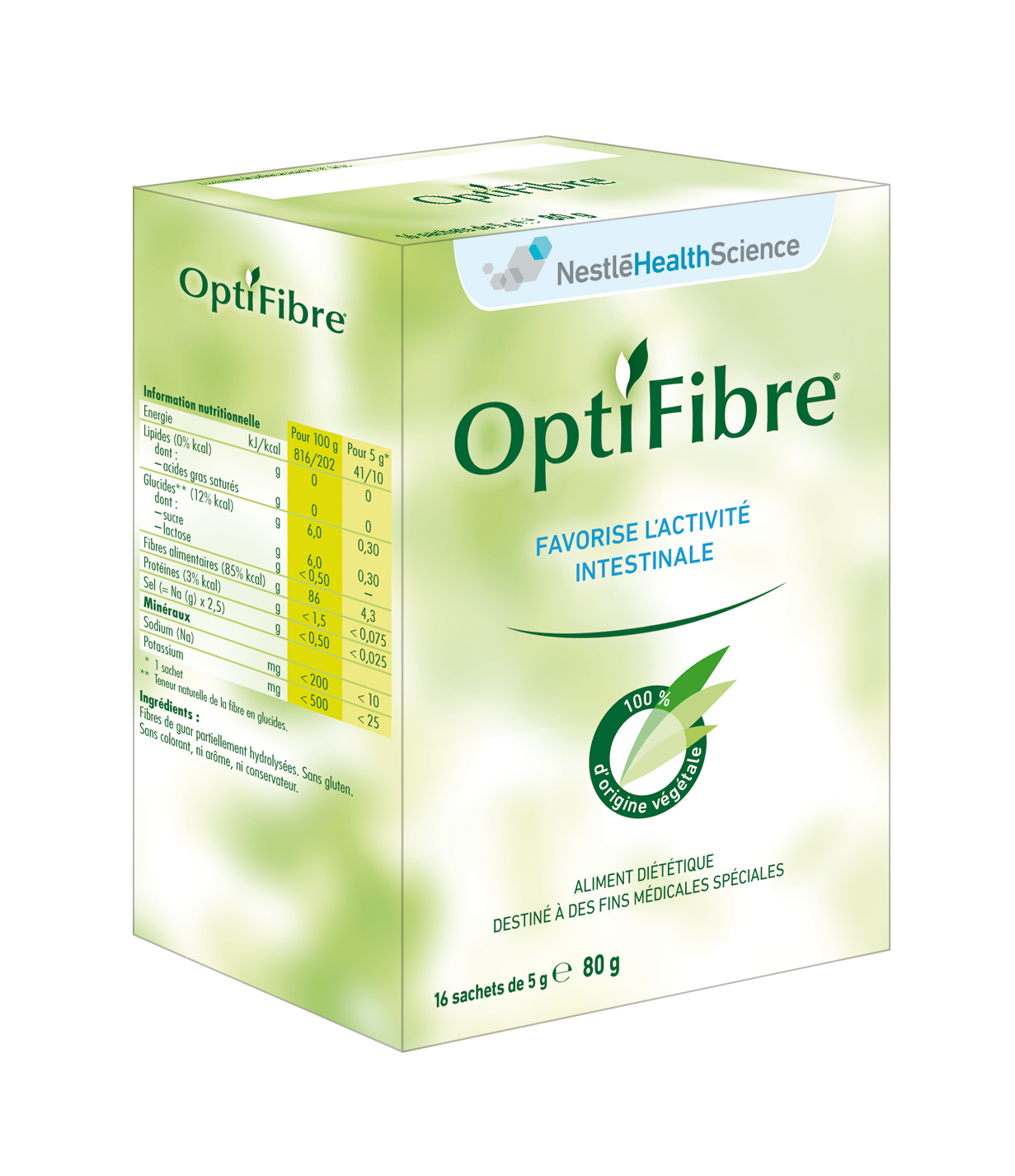 Image OPTIFIBRE pdre oral