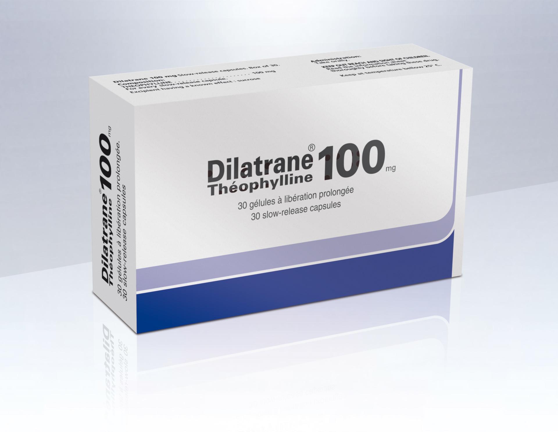 Image DILATRANE 100 mg gél LP
