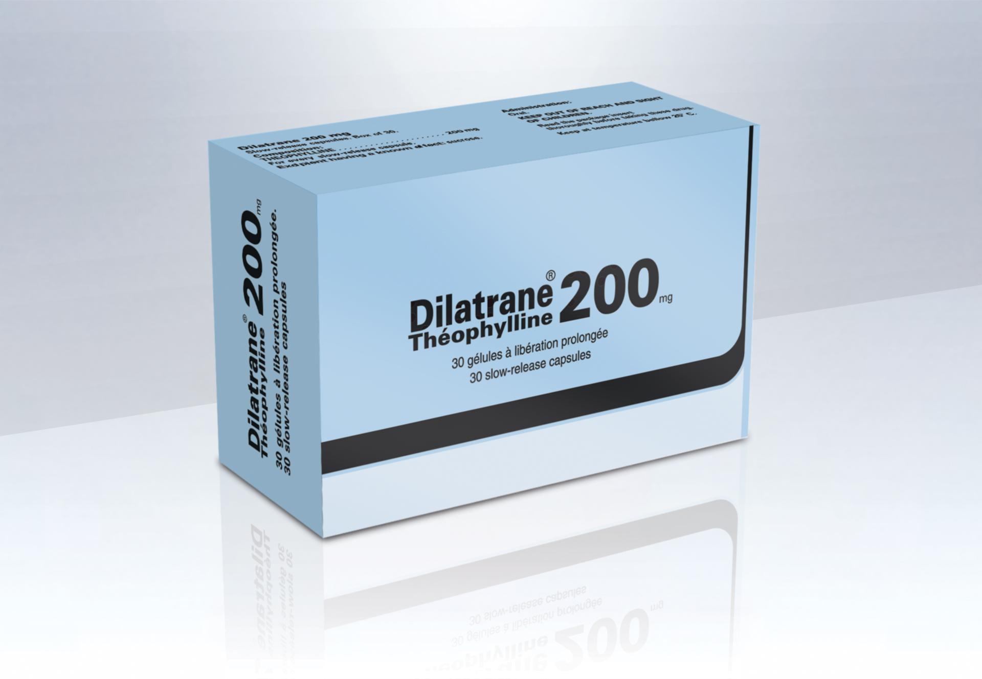 Image DILATRANE 200 mg gél LP