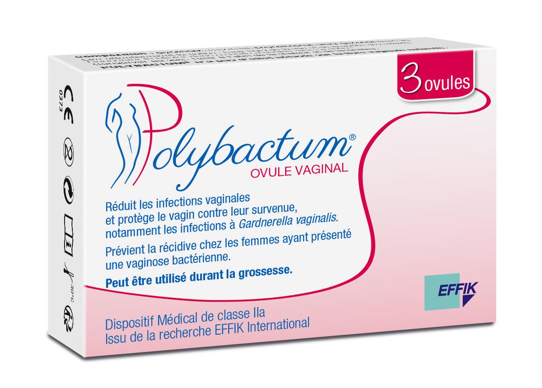 Image POLYBACTUM Ov vaginal récidives vaginoses bactériennes B/3