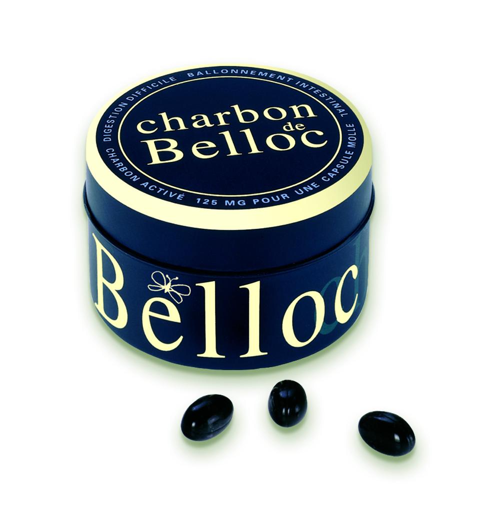 Image CHARBON DE BELLOC 125 mg Caps molle B/36