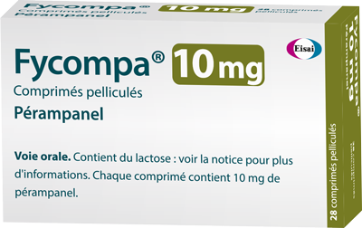 Image FYCOMPA 10 mg Cpr pell Plq/28