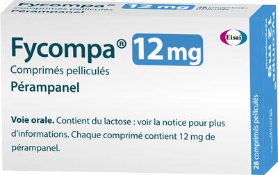 Image FYCOMPA 12 mg Cpr pell Plq/28