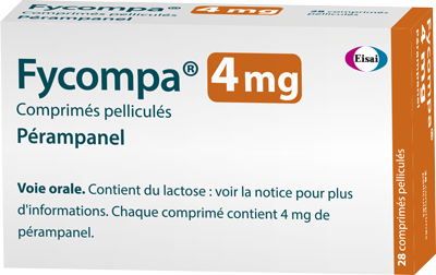 Image FYCOMPA 4 mg Cpr pell Plq/28