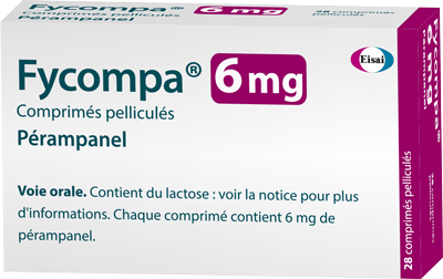 Image FYCOMPA 6 mg Cpr pell Plq/28