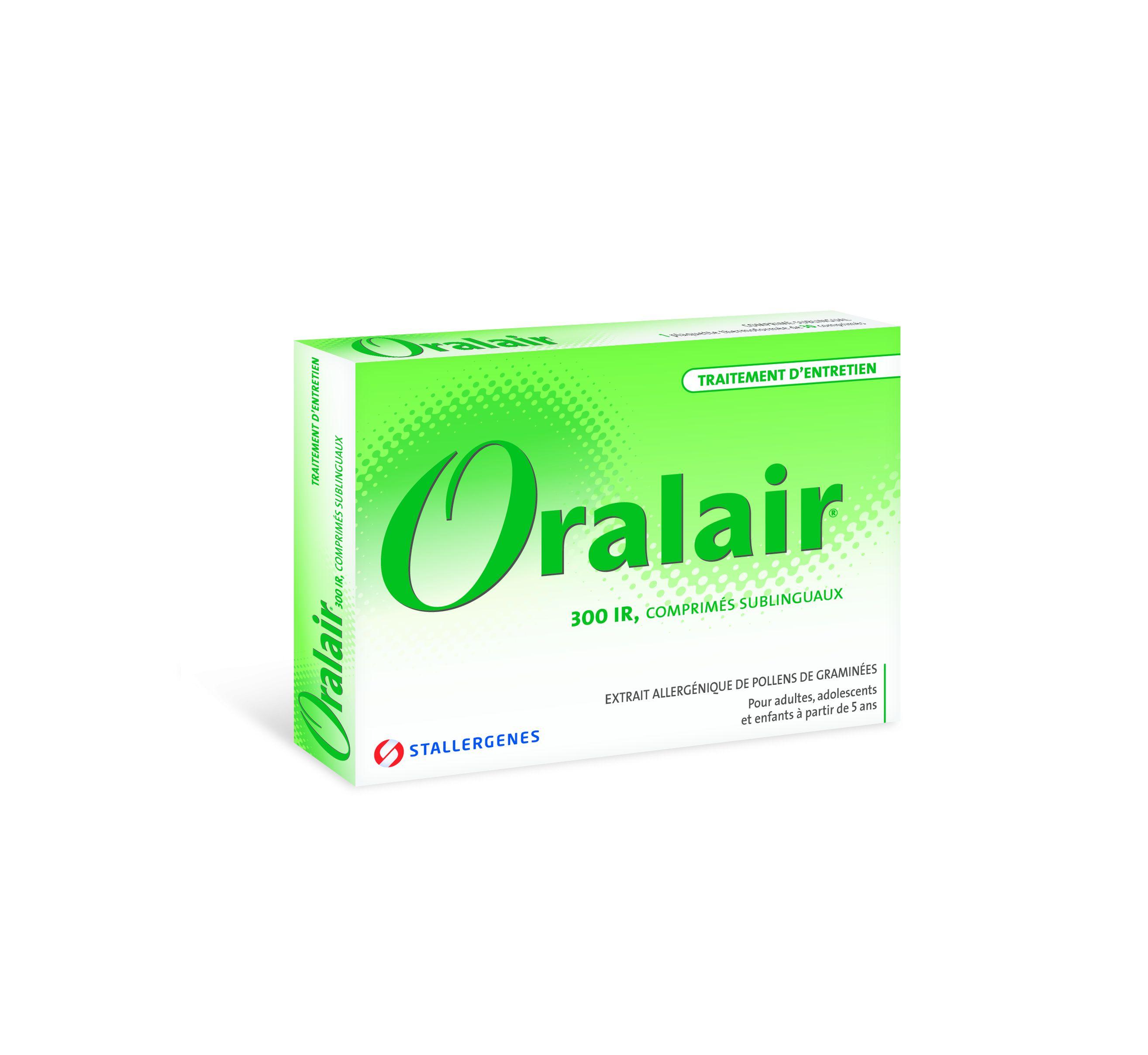 Image ORALAIR 300 IR Cpr subl 1Plq/30