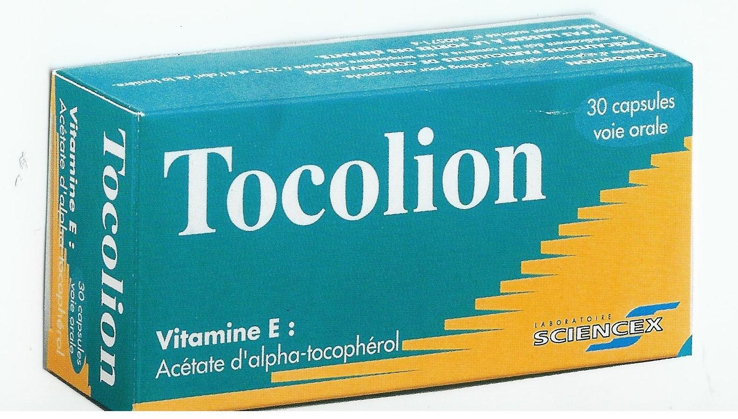 Image TOCOLION 500 mg Caps molle Plq/30
