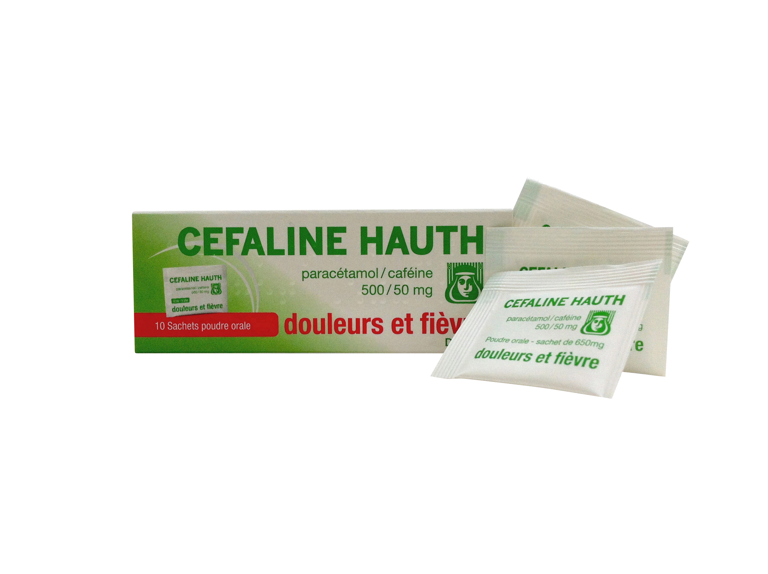 Image CEFALINE HAUTH Pdr susp buv 10Sach