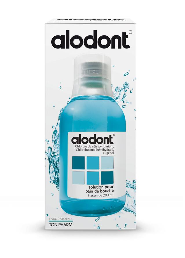 Image ALODONT S bain bouche Fl/200ml+gob