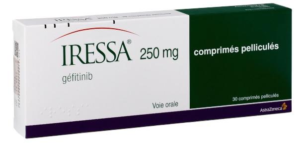 Image IRESSA 250 mg Cpr pell Plq non préd/30