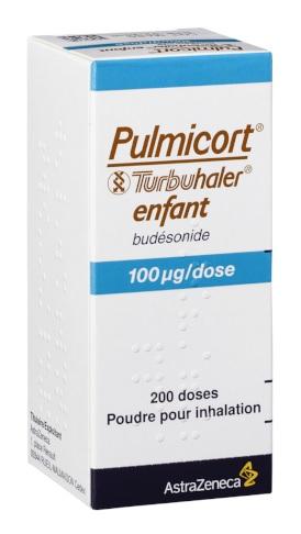 Image PULMICORT TURBUHALER 100 µg/dose Pdr inh Fl/200doses