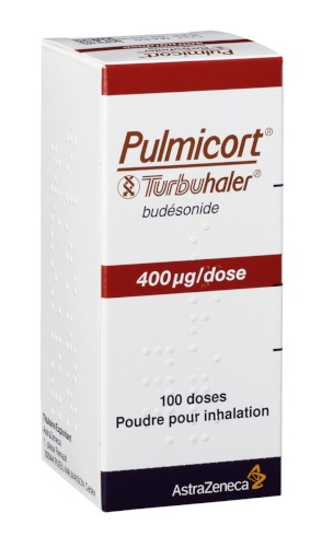 Image PULMICORT TURBUHALER 400 µg/dose Pdr inh Fl/100Doses