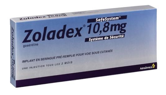 Image ZOLADEX 10,8 mg Implant inj en seringue préremplie SC Ser prér/1