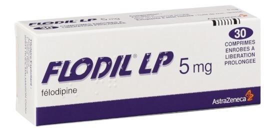 Image FLODIL LP 5 mg Cpr enr LP Plq/30