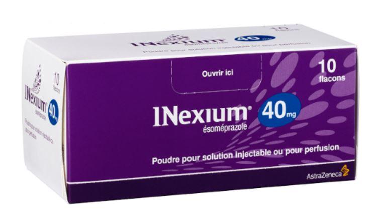 Image INEXIUM 40 mg Pdr p sol inj ou perf 10Fl/5ml