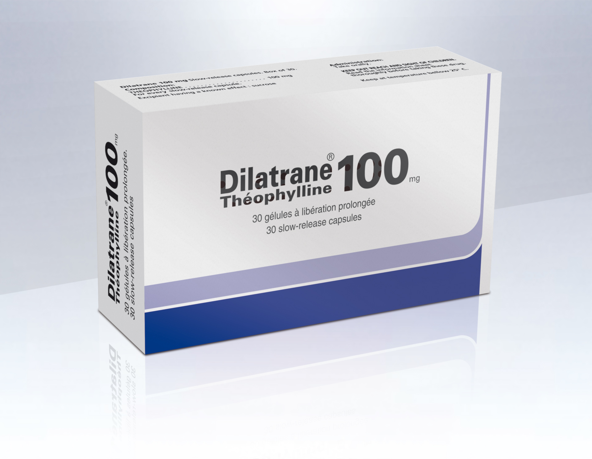 Image DILATRANE 100 mg Gél LP Plq/30