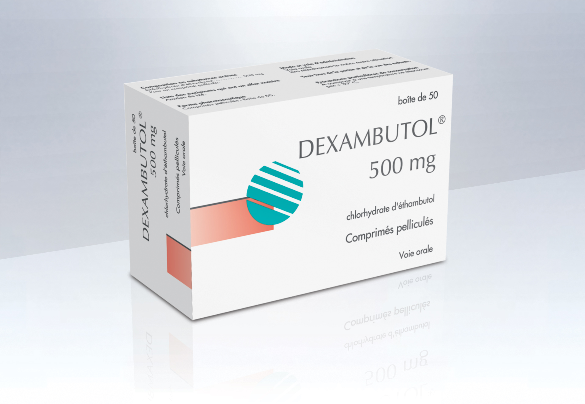 Image DEXAMBUTOL 500 mg Cpr pell B/50