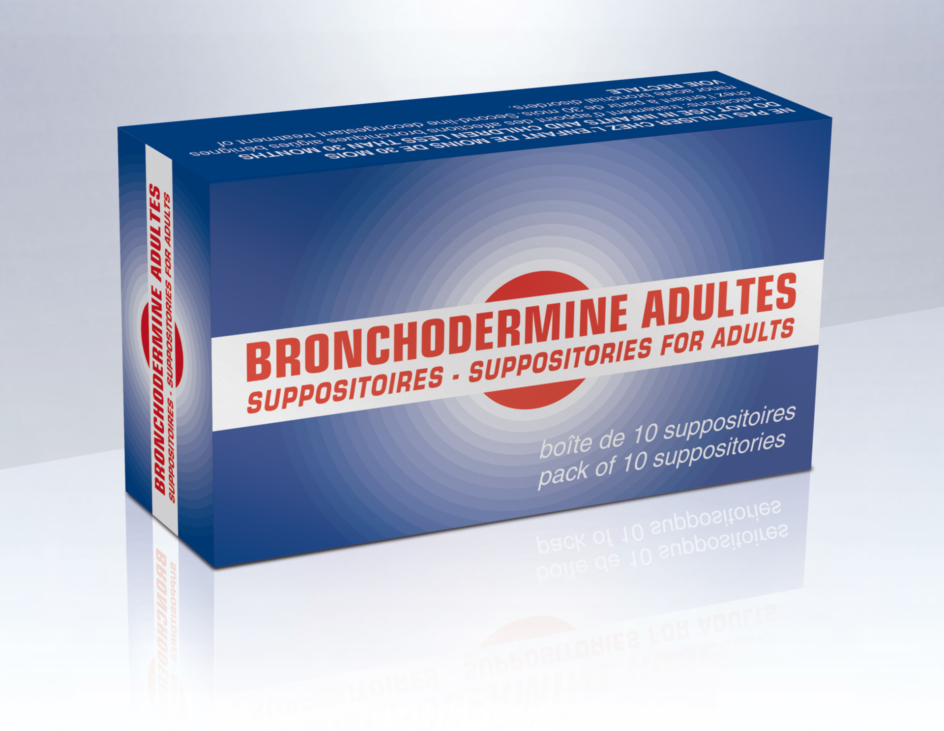 Image BRONCHODERMINE Suppo adulte B/10
