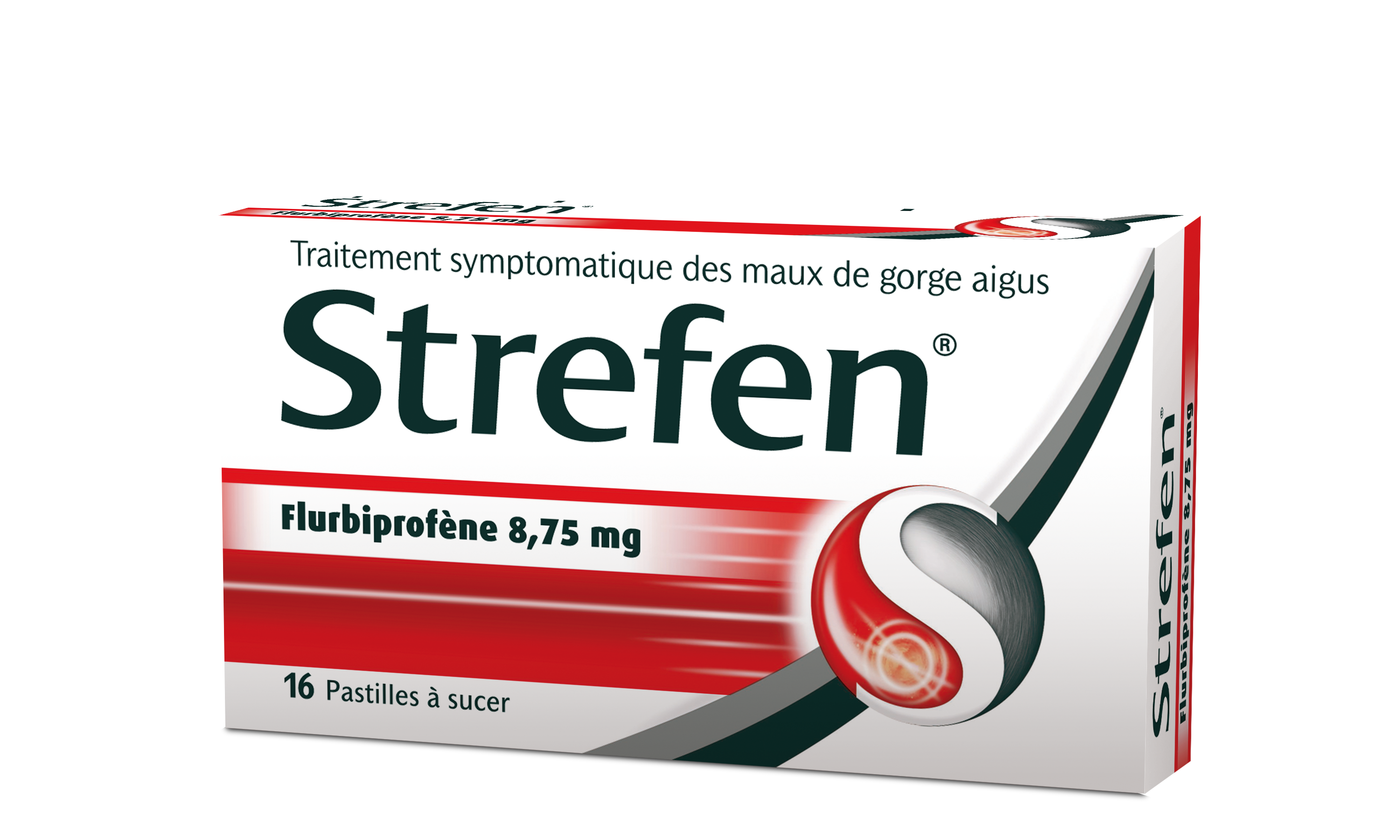 Image STREFEN 8,75 mg Past Plq/16