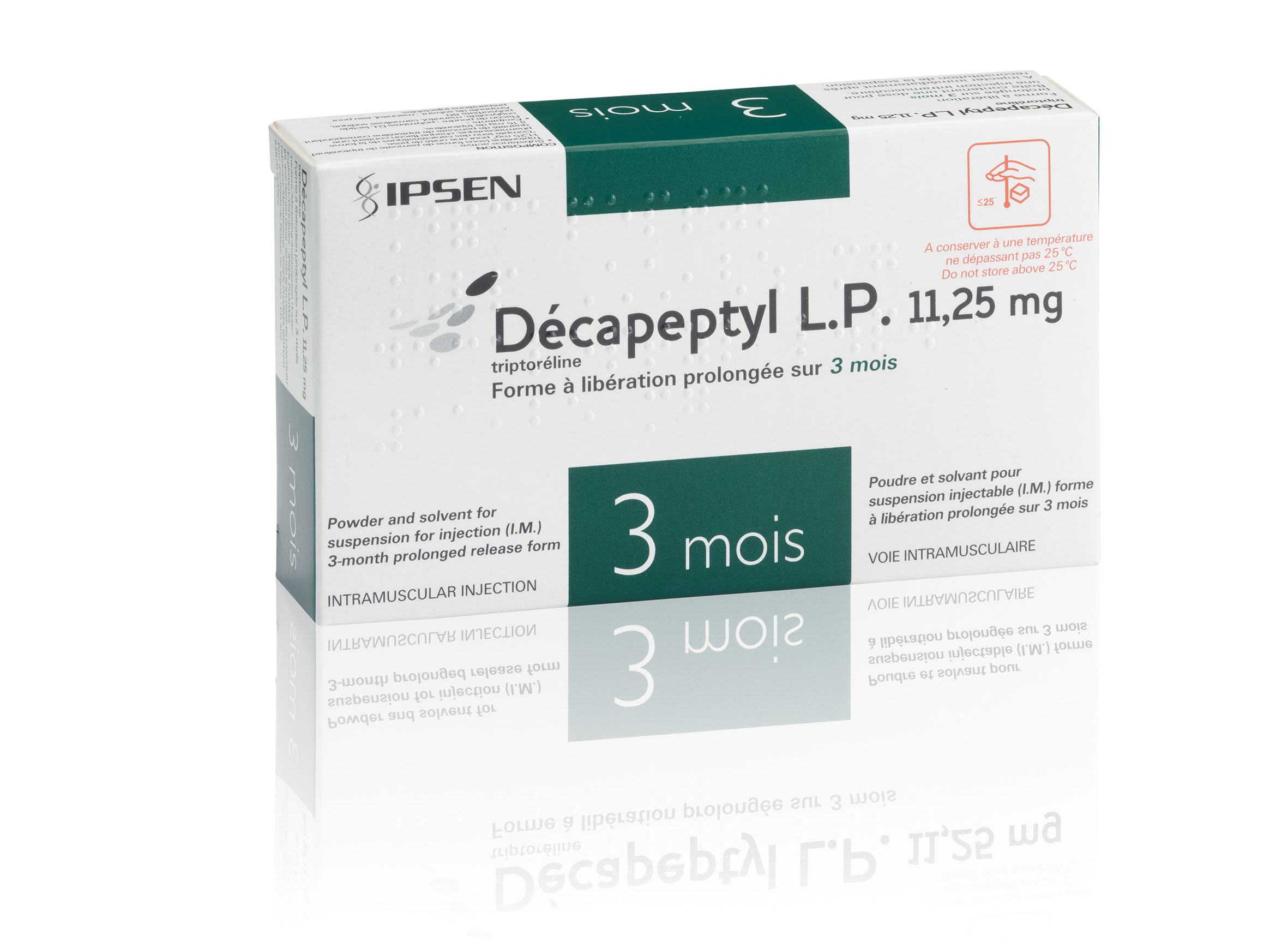 Image DECAPEPTYL LP 11,25 mg Pdr & solv susp inj LP IM Fl+Amp/2ml