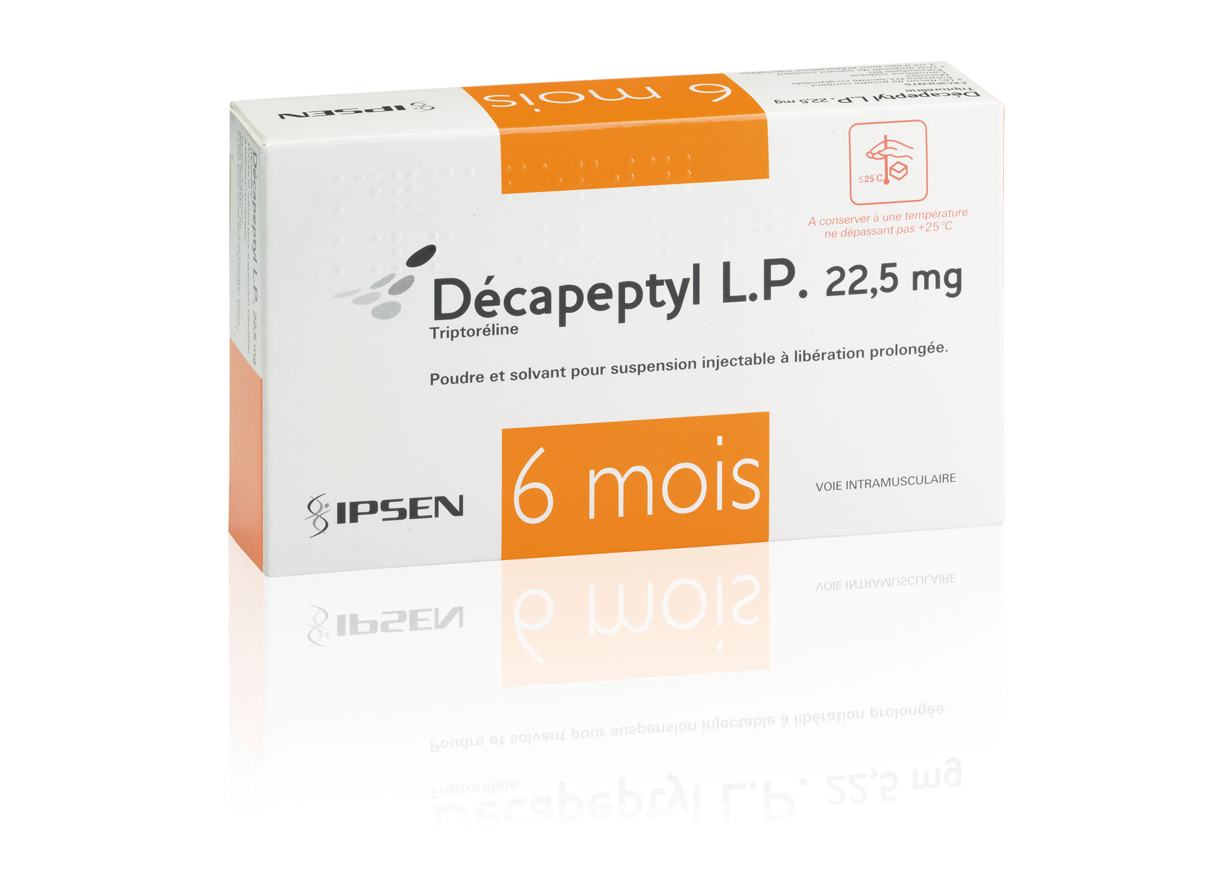 Image DECAPEPTYL LP 22,5 mg Pdr & solv susp inj LP Fl+Amp/2ml+Ser+Aig