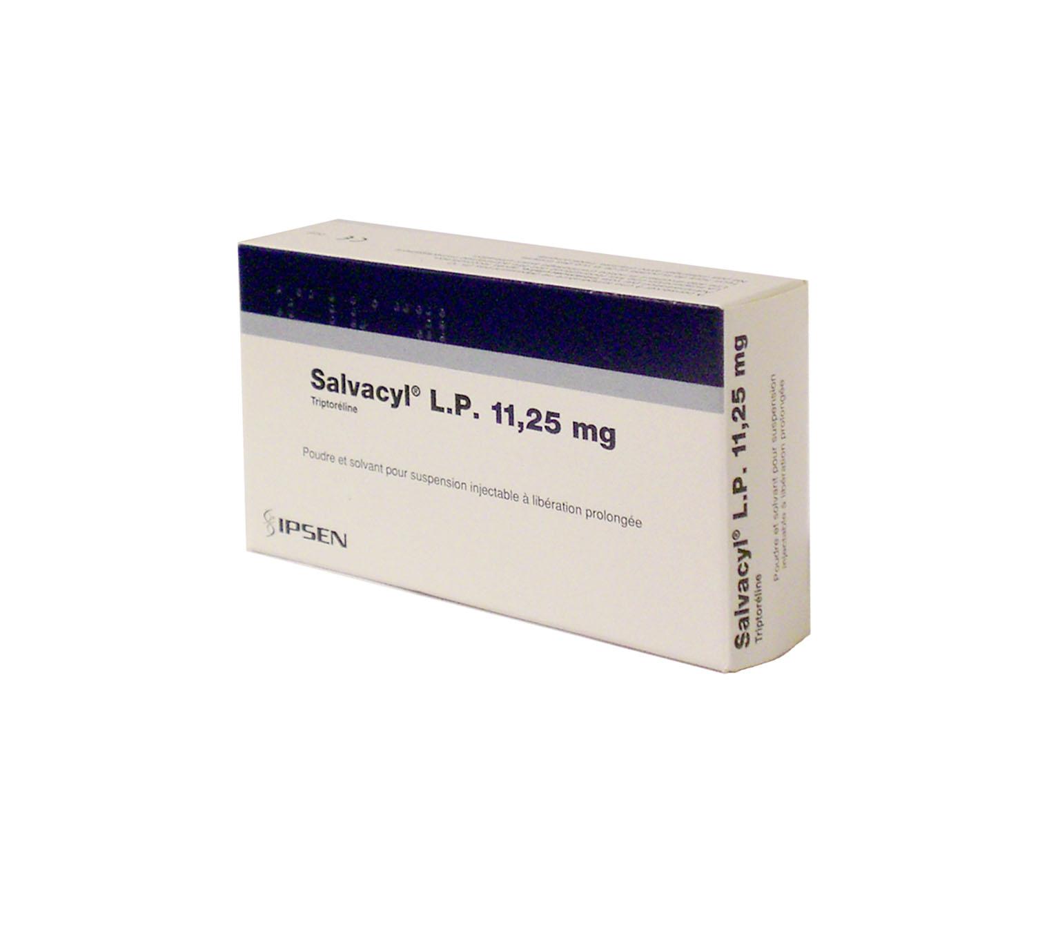 Image SALVACYL LP 11,25 mg Pdr & solv susp inj LP 1Fl+1Amp/2ml+Ser+Aig