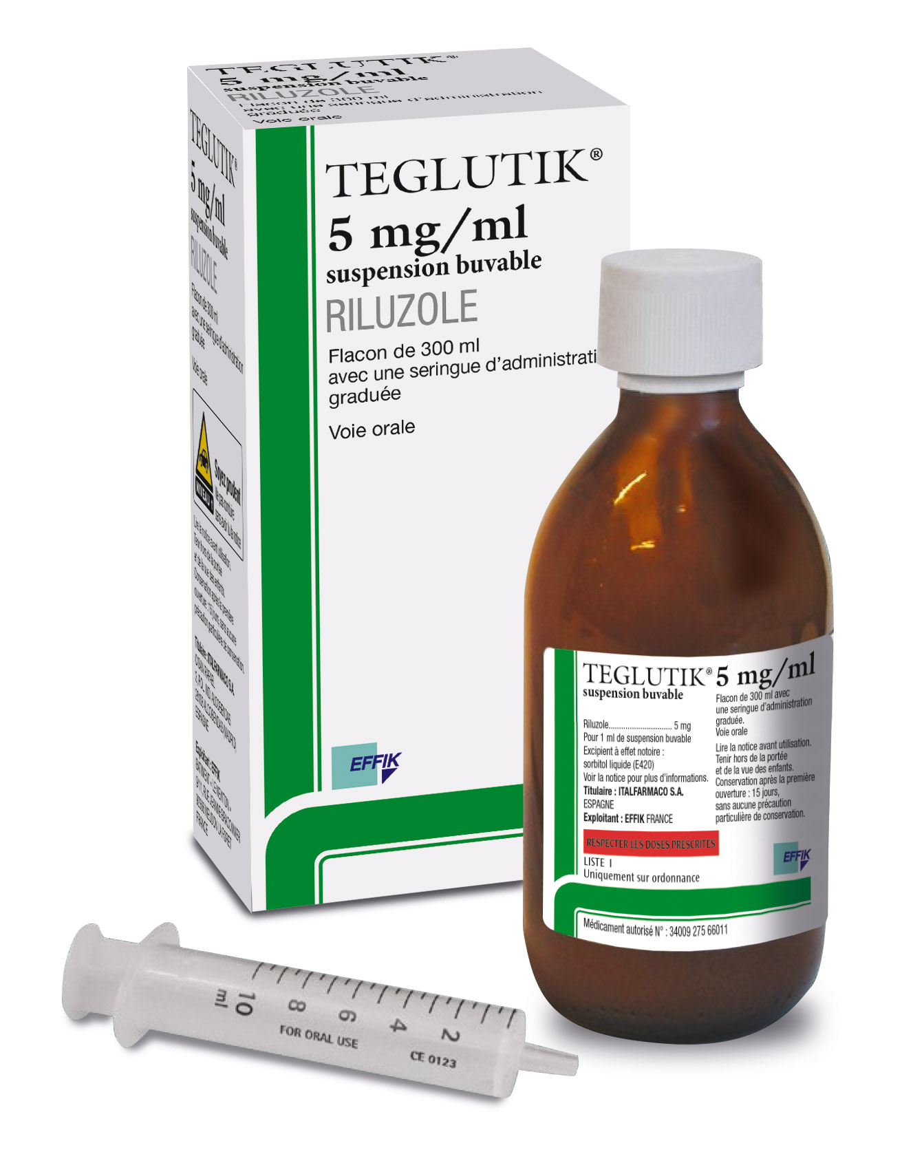 Image TEGLUTIK 5 mg/ml Susp buv Fl/300ml
