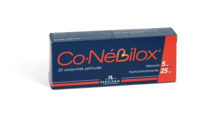 Image CONEBILOX 5 mg/25 mg Cpr pell Plq/30