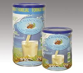 Image LA MANDORLE lait pdre aux Amandes bio