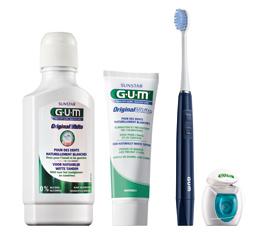 Image GUM ORIGINAL WHITE pâte dentifr blanchissant