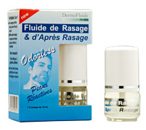 Image DERMOFLUIDE ODORLESS fluide rasage et après-rasage