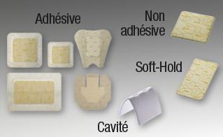 Image BIATAIN SOFT-HOLD pans hydrocellulaire micro-adhérent