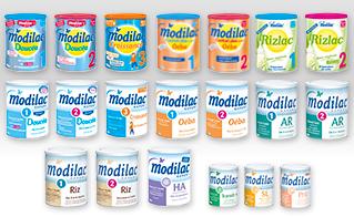 Image MODILAC EXPERT RIZ 1 lait pdre