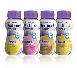 Image FORTIMEL PROTEIN nutriment banane