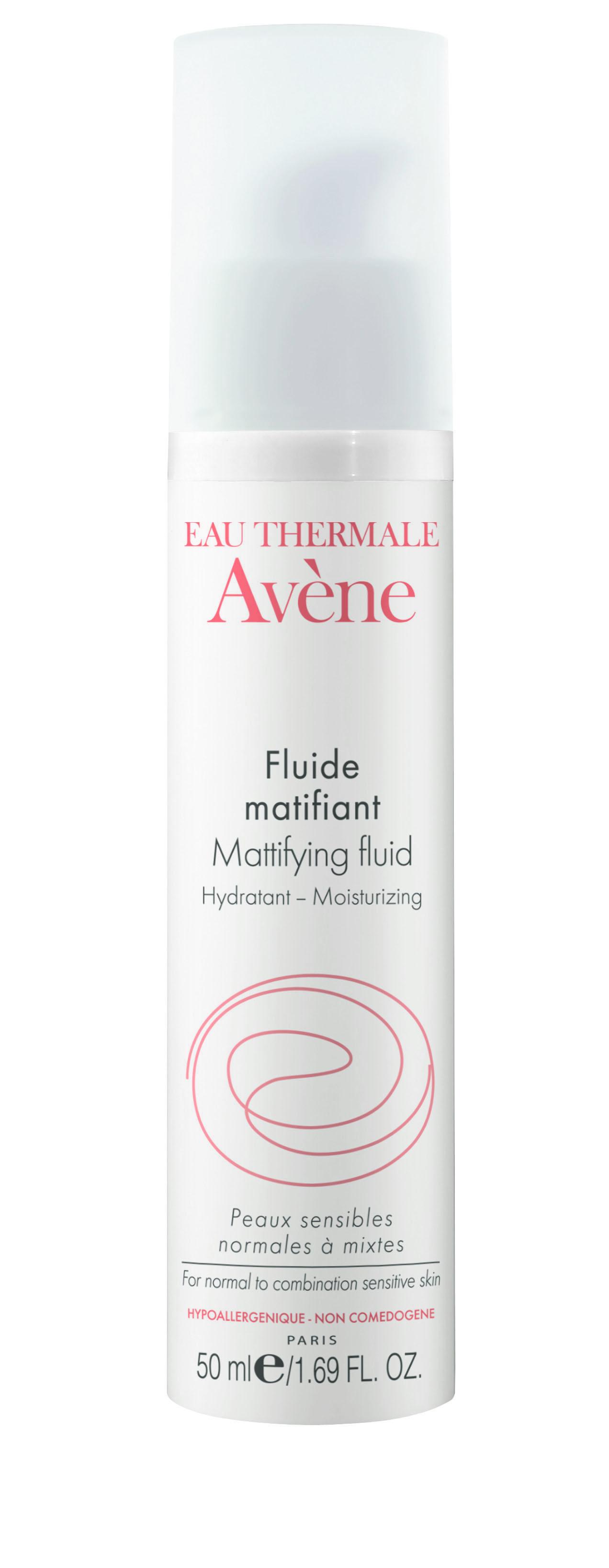 Image AVENE SOINS ESSENTIELS fluide matifiant hydratant