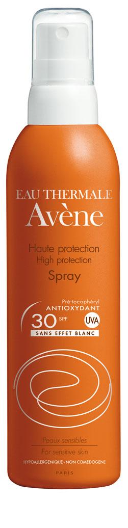 Image AVENE SOLAIRE SPF 30 spray haute protection