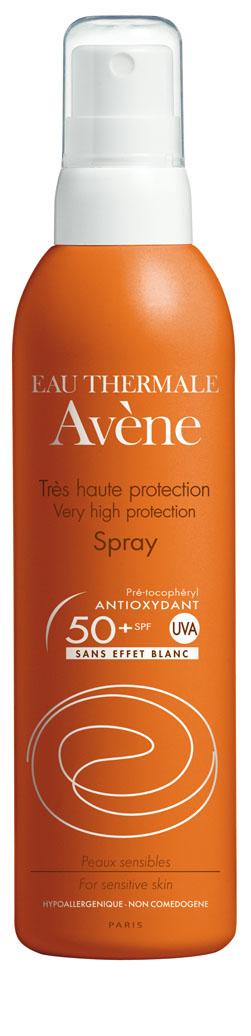 Image AVENE SOLAIRE SPF 50+ spray très haute protection