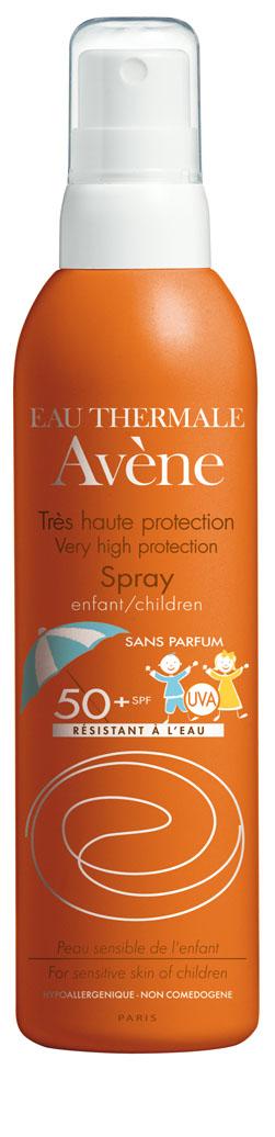 Image AVENE SOLAIRE SPF 50+ spray très haute protection enfant