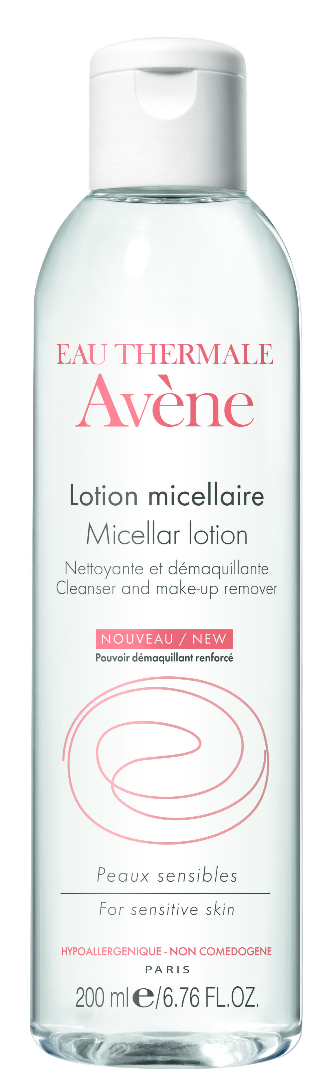 Image AVENE SOINS ESSENTIELS lotion micellaire nettoyante démaquillante