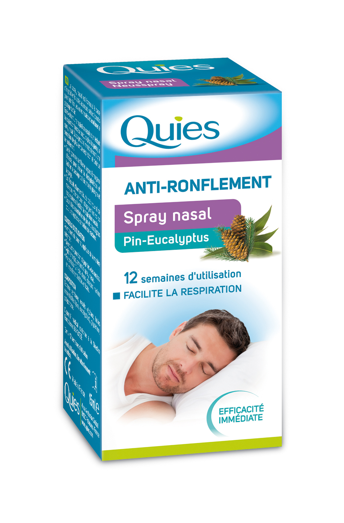 Image QUIES sol nasal anti-ronflement