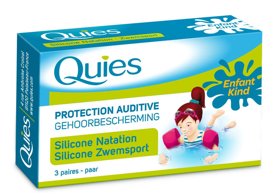 Image QUIES protection auditive silicone spécial natation enfant