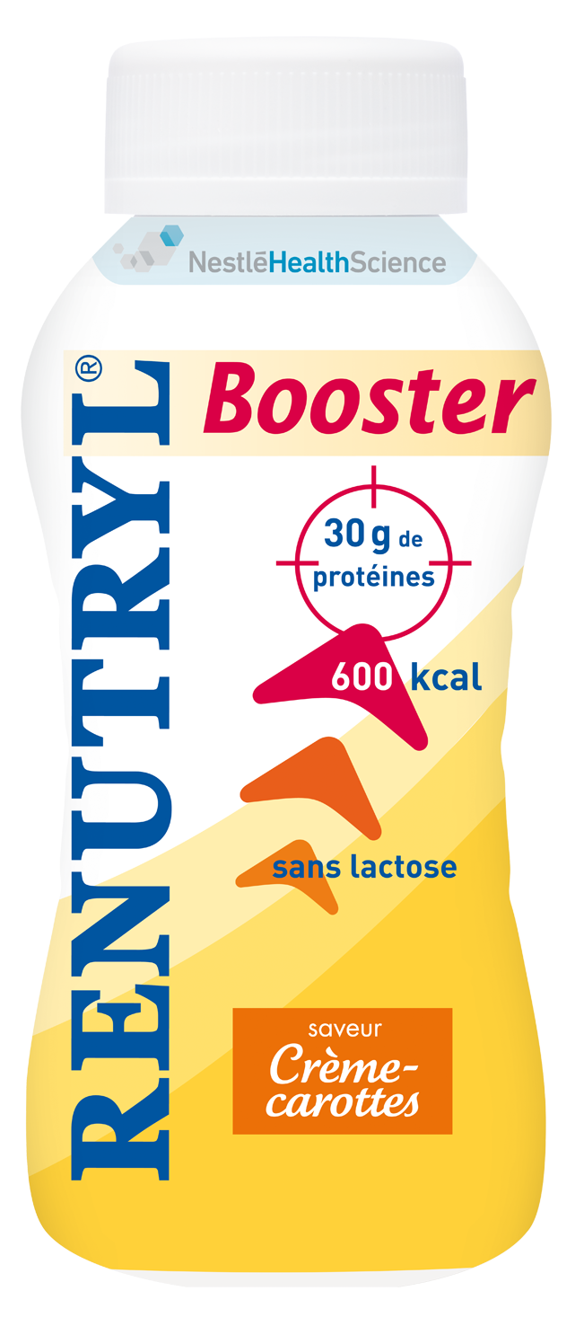 Image RENUTRYL BOOSTER nutriment crème carotte