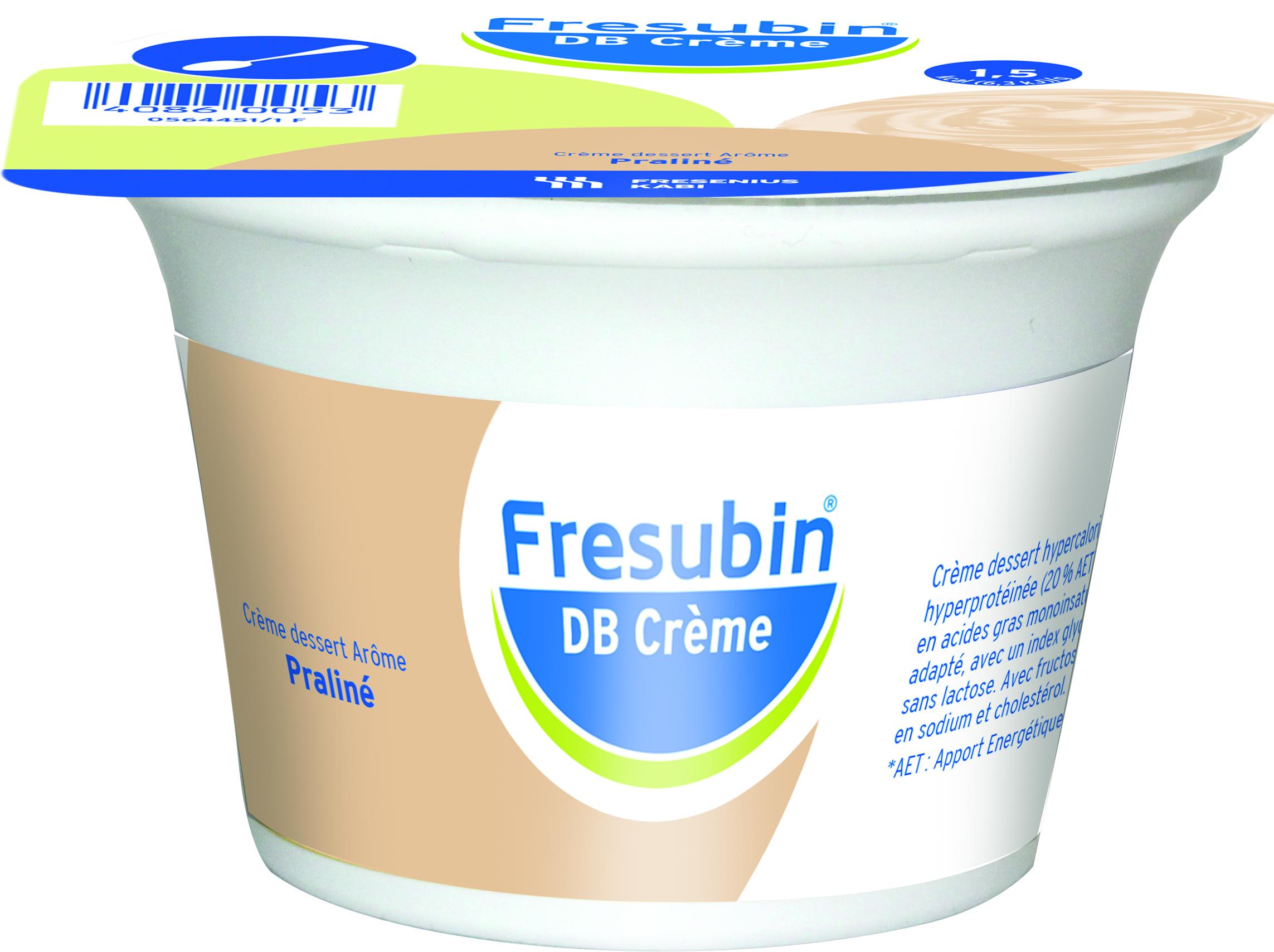 Image FRESUBIN DB CREME nutriment fraise des bois