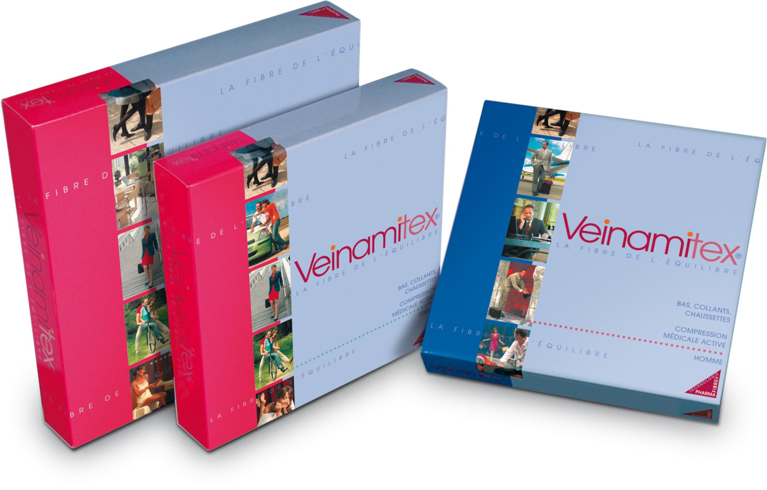 Image VEINAMITEX 2 chaussette opaque