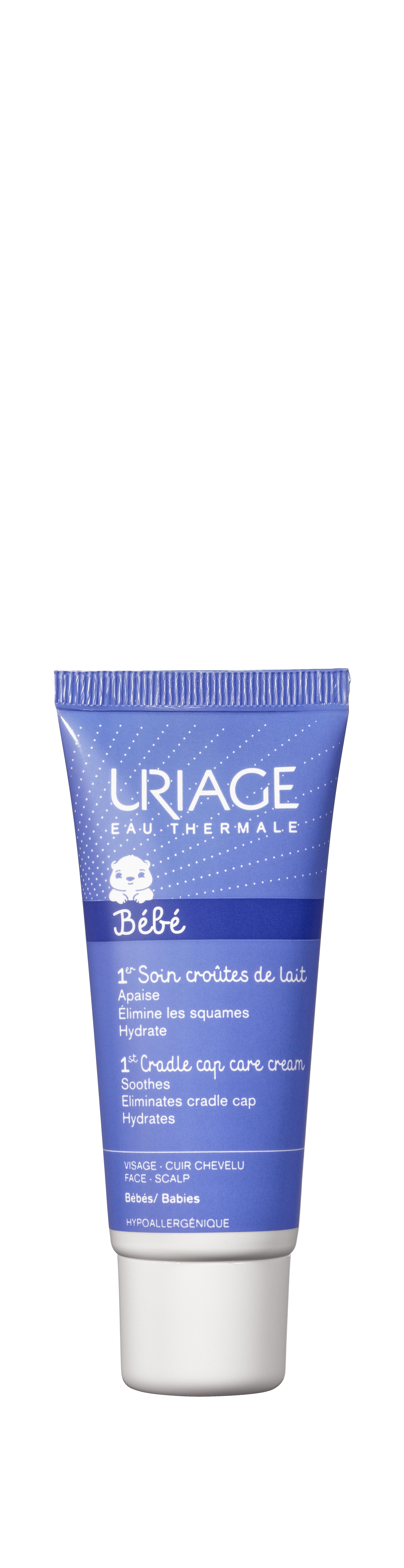 Image URIAGE BEBE 1ER SOIN Cr soin croûtes de lait T/40ml