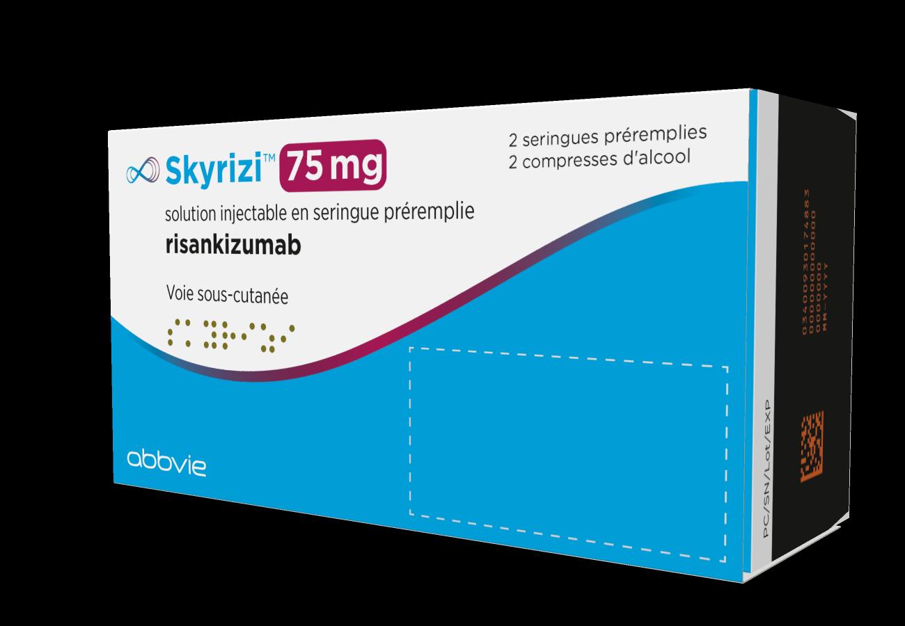 Image SKYRIZI 75 mg S inj en seringue préremplie 2Ser