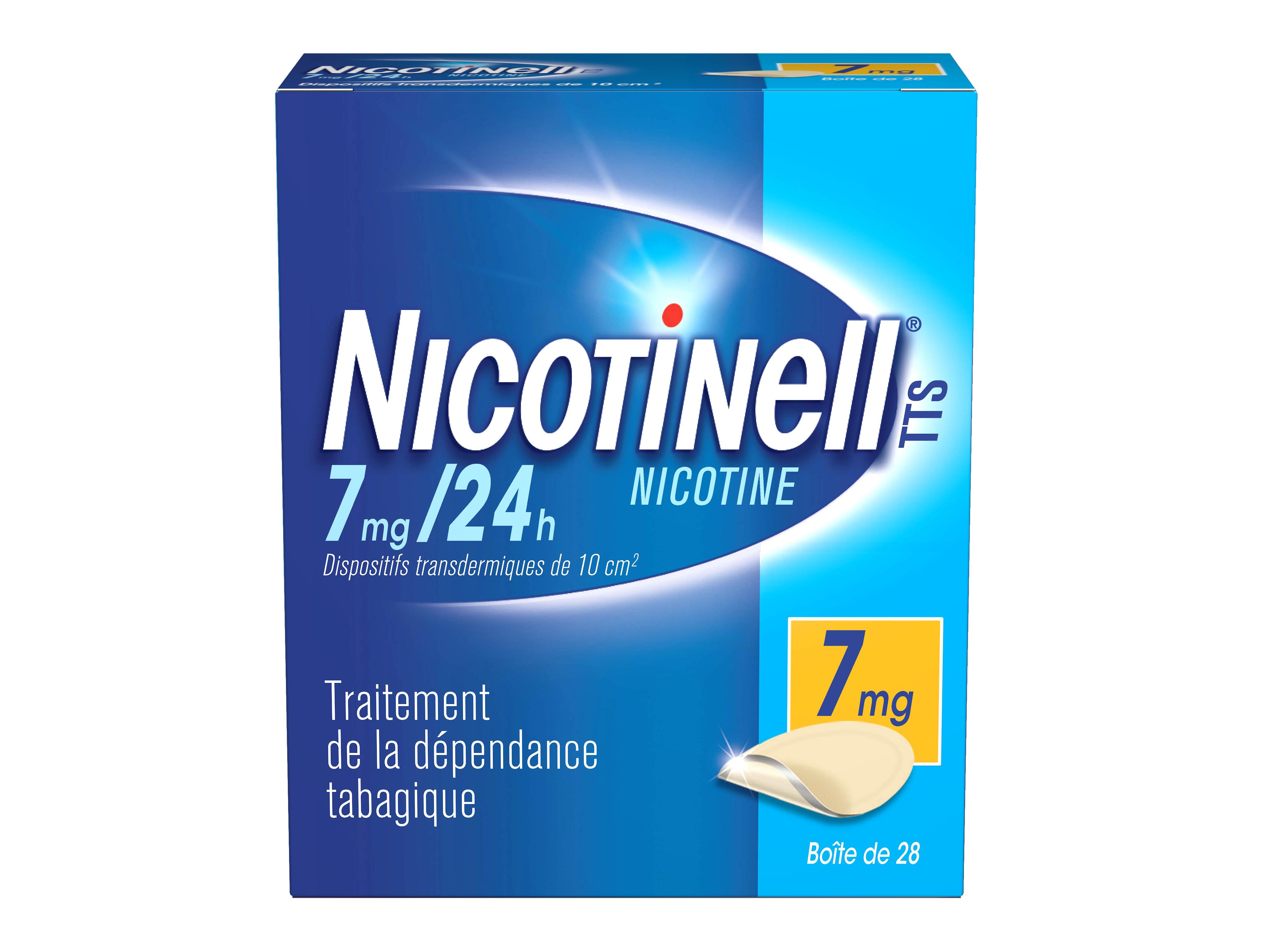 Image NICOTINELL TTS 7 mg/24 h Disp transderm B/28